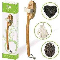 Premium Dry Brushing Body Brush for Exfoliating Dry Skin to Get Glowing Tighter Skin – Bod ...
