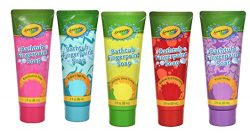 Crayola Bathtub Fingerpaint soap 5 piece bundle (Colors may vary)