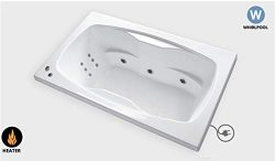 Carver Tubs – AR6042 Heated 12 Jet Whirlpool – 60″H x 42″W x 20.5″ ...