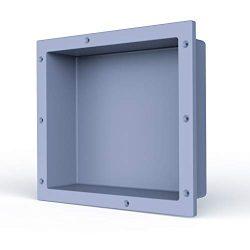 SL4U Shower Niche, Single Recessed Shower Shelf Built in Storge Shelf for Shampoo Toiletry Ready ...