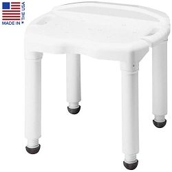 Carex Universal Bath Seat and Shower Chair – With Support Up To 400 Pounds – Adjusta ...