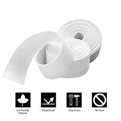 Caulk Strip for Bathtub, Branger PE Sealing Tape Self Adhesive Caulking Sealant Tape Waterproof/ ...