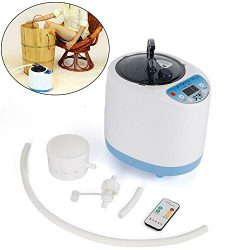 DONNGYZ Fumigation Machine,2L Portable Fumigation Machine Sauna Spa Tent Body Therapy Steamer St ...