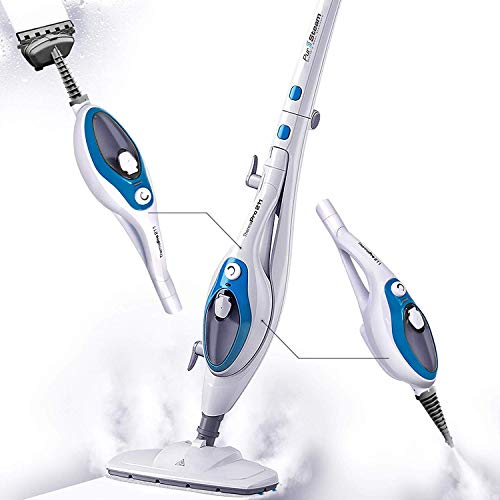 Steam Mop Cleaner ThermaPro 10-in-1 with Convenient Detachable Handheld Unit, Laminate/Hardwood/ ...