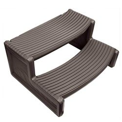 New Pool Equipment Parts Confer Plastics HS2 Dark Gray Resin Handi-Step for Spa and Hot Tubs