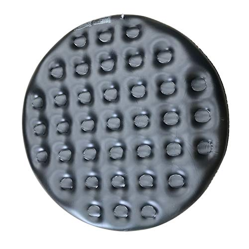 ALEKO Inflatable Round Insulator Top for 6-Person Inflatable Hot Tub – Black