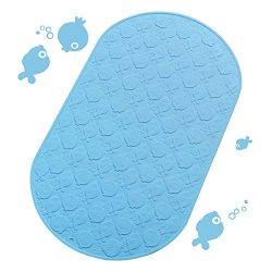 DEXI Kids Bath Mats for Tub,Non Slip Bathtub Mats with Suction Cups Baby Toddler Shower Bath Tub ...