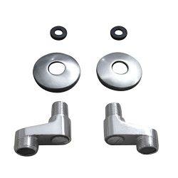 gotonovo Clawfoot Tub 3-3/8 Inch Adapter Claw Foot Bathtub Kitchen Faucet Adjustable Swing Arms  ...