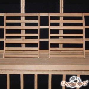 Dynamic Canadian Hemlock Sauna Backrest – Set of 2
