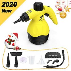 MLMLANT [Upgrade Handheld Pressurized Steam Cleaner with 9-Piece Accessory Set – Multi-Pur ...