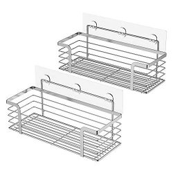 ODesign Shower Caddy Basket Shelf for Shampoo Conditioner Bathroom Kitchen Storage Organizer SUS ...