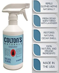 Colton's Naturals Cedar Spray W/with Lavender Extract – Non-Chemical Wood Protection ...