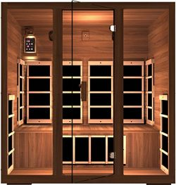 JNH Lifestyles MG401RB MG417RB Far Infrared Sauna with Cedar Wood