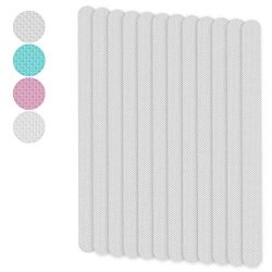 Telustyle Anti Slip Tape Bathtub and Shower Treads, Safety Walk Self Adhesive Non-Slip Strips 12 ...