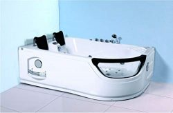 SDI Factory Direct 2 Person Corner Hydrotherapy Whirlpool Bathtub Spa Massage Therapy Hot Bath T ...