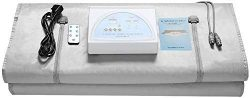 T iNlovEaRTs Upgraded Sauna Blanket Detox Far Infrared 2 Zone Digital Far-Infrared (FIR) Oxford, ...