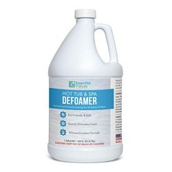 Essential Values Gallon Hot Tub, Pool & Spa Defoamer (Gallon / 128 Fl OZ) – Quickly Re ...