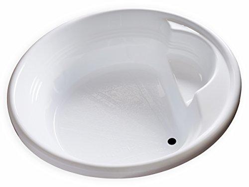 Carver Tubs – FL7272-72″L x 72″W x 18″H – White Drop In Acrylic Ro ...