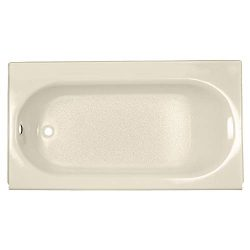 American Standard 2394202.021 Princeton Luxury Ledge Americast Apron-Front Bathtub with Left Han ...