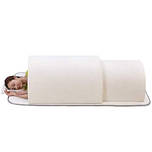 S SMAUTOP One Person Sauna Dome Portable Infrared Home Spa for Detox and Weight Loss Accelerate  ...
