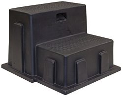 Buyers Products 3013658 Poly Step (Step, Poly, Utility, 2 Steps, Black)