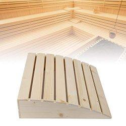 Wooden Sauna Pillow, Practical Comfortable Sauna Room Pillow Headrest Sauna Supplies Accessories ...