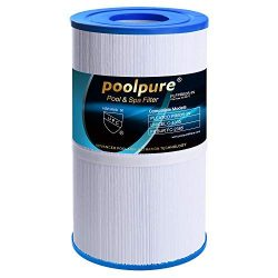 POOLPURE Spa Filter Replacement for Pleatco PRB35-IN Unicel C-4335 FC-2385, 35 sq ft, Pentair R1 ...