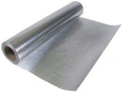 500 sqft (4ft x 125ft) of NASATECH Commercial Grade SOLID Non Perforated No Tear Green Energy Ra ...