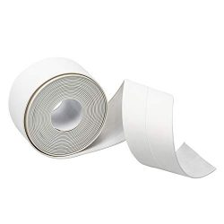 Caulk Tape,Self Adhesive Sealing Caulk Strip Waterproof Repair Strip for Bathtub Kitchen Sink Ba ...