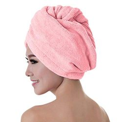 OppsDecor Sauna Hair Dry Towel for Portable Steam Sauna, Personal Therapeutic Sauna at Home Pink