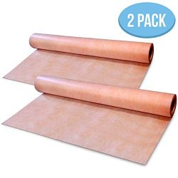 [Pack of 2] Waterproof Membrane 3.3 ft x 33 ft / 108 Square Feet – 8mils Thick – Wat ...