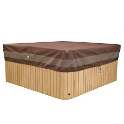 Duck Covers Ultimate Square Hot Tub Cover Cap 86″ x 86″