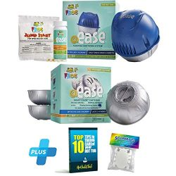 HotTubClub @Ease Floating Sanitizing System, Hot Tub Accessories – Bundled with @Ease Smar ...