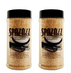 Spazazz Aromatherapy Spa and Bath Crystals 2PK Escape (Coconut Vanilla – 2pk)