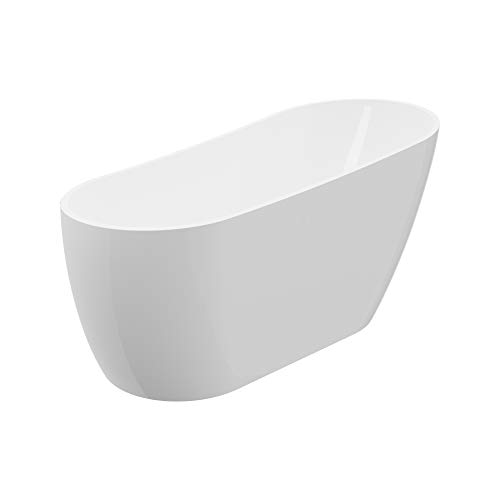A&E Bath and Shower Peyton 60 Free-standing Tub, White