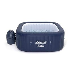 Coleman 90454 SaluSpa Hawaii AirJet 4-Person 71 x 26 Inch Portable Inflatable Square Outdoor Spa ...