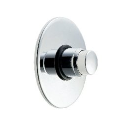 Deva NCT003 Concealed Self Closing Recessed Shower Valve with Chrome Finish