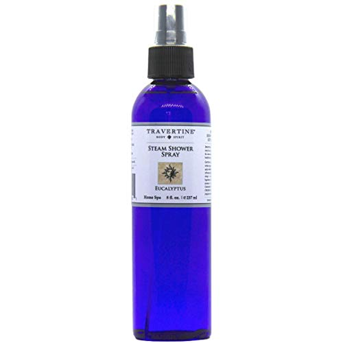 Travertine Spa Eucalyptus Steam Shower Spray, 8 oz.