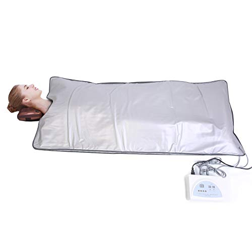Ejoyous Sauna Blanket, Far Infrared Sauna Heating Blanket Detox Therapy Machine for Weight Loss  ...