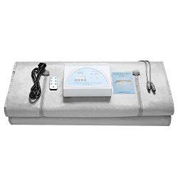 TTLIFE 2 Zone Digital Far-Infrared (FIR) Oxford Sauna Blanket,Weight Loss Body Shaper Profession ...