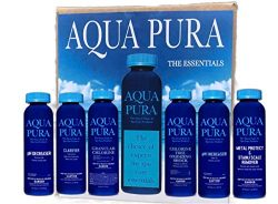 AQUA PURA Hot Tub Maintenance Chemicals & Supplies | Spas & Hot Tubs SPA Care Chemical K ...